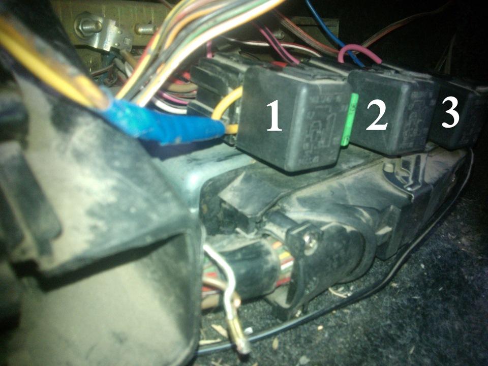 Реле включения вентилятора охлаждения ваз 2110 инжектор